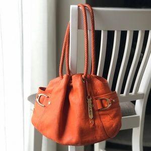 Cole Haan Leather Bag in Hermès Orange